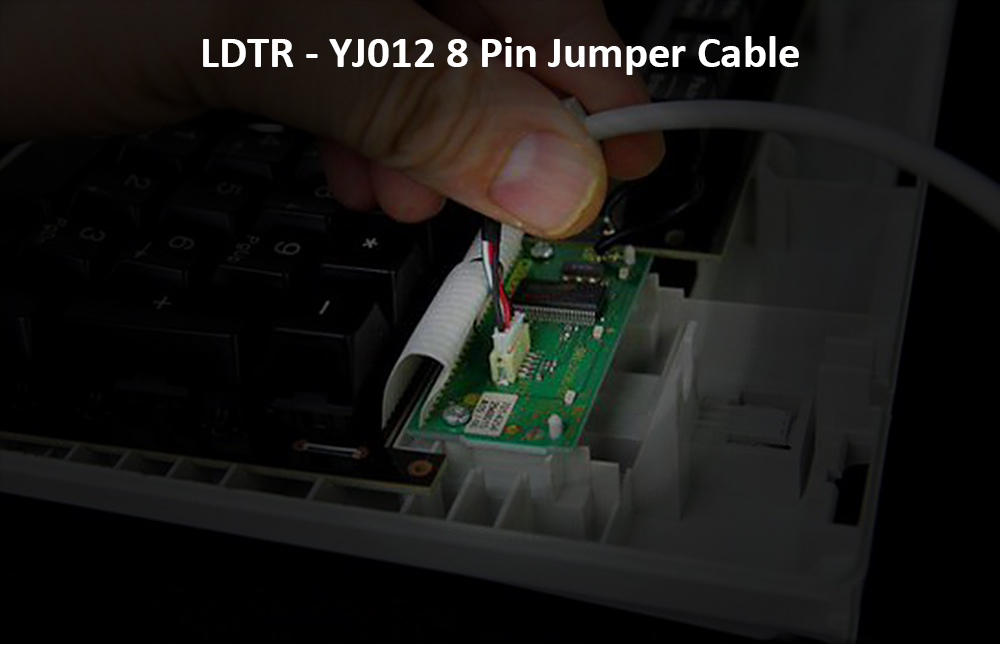 LDTR - YJ012 8 Pin Female to Female Breadboard Connector Cable for Arduino