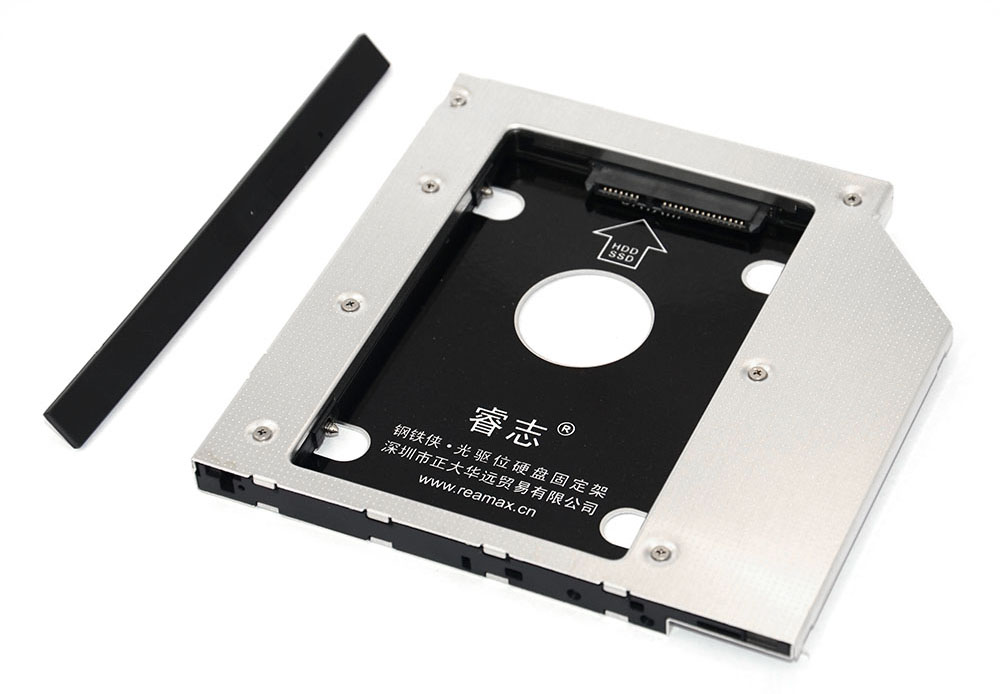 Reamax Iron Man HDD Caddy Tray SATA 3.0 Case for 12.7mm Notebook