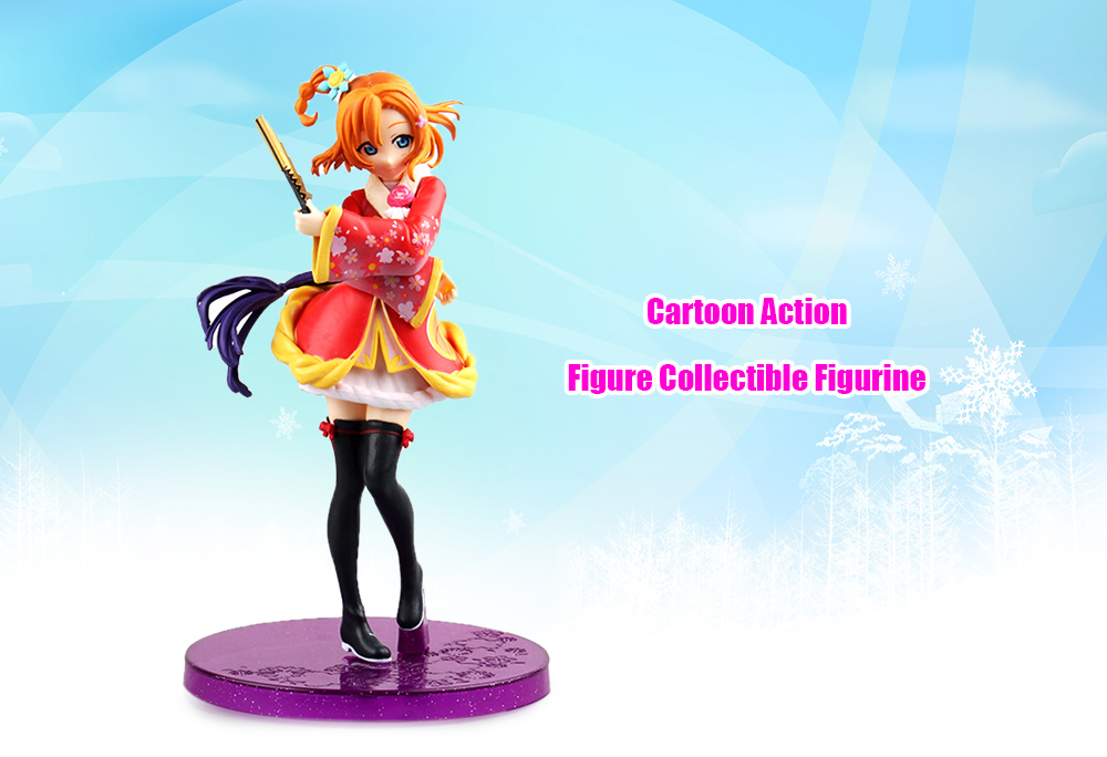 Anime Collectible ABS + PVC Action Figure - 6.69 inch