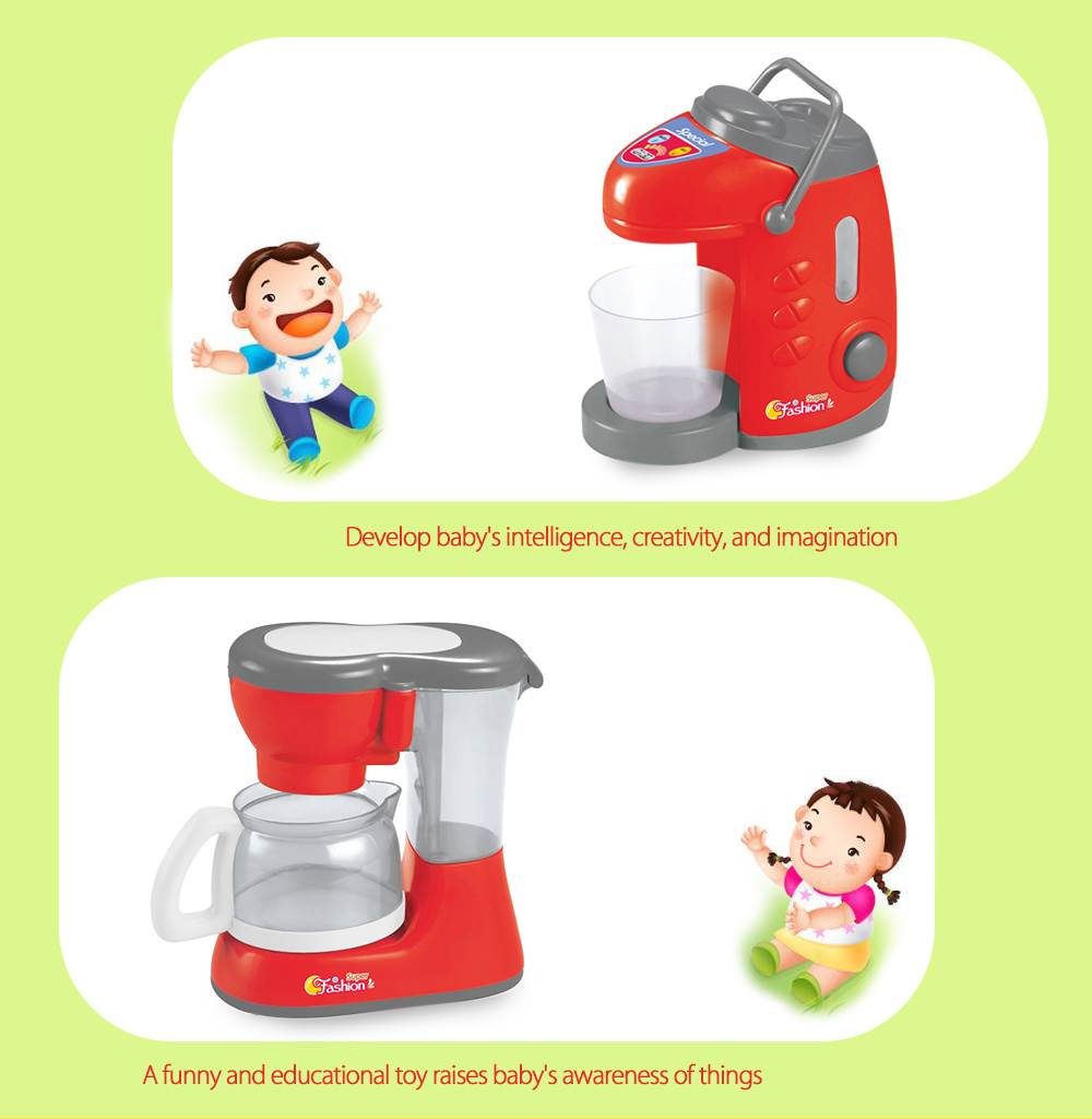 Electric Simulation Appliance Educational Pretend Play Household Toy - 3pcs / set
