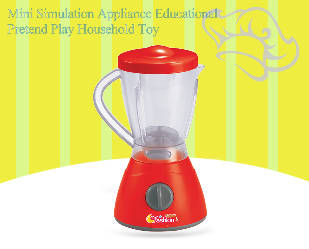 Electric Simulation Appliance Juice Machine Educational Pretend Play Household Toy Gift