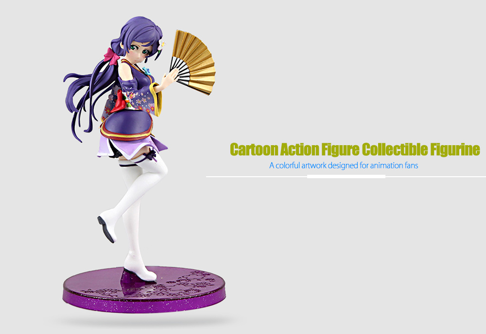 Figurine Anime Collectible ABS + PVC Action Figure - 6.69 inch