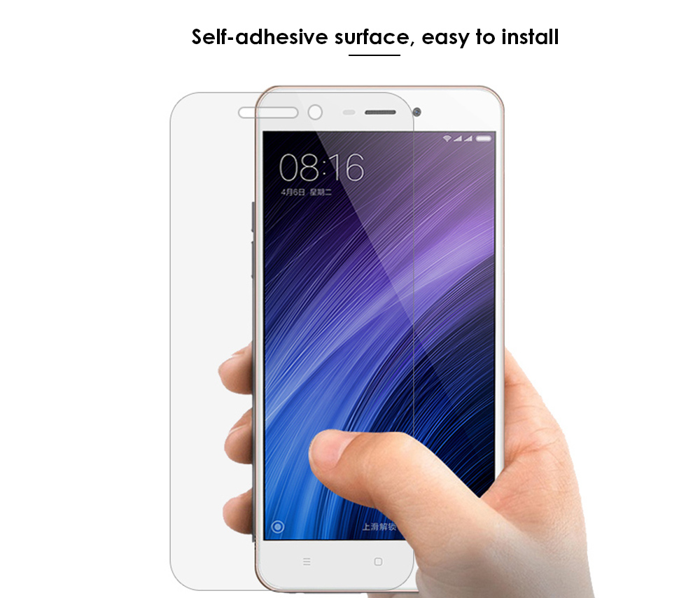 ASLING Tempered Glass Screen Protective Film for Xiaomi Redmi 4A Ultra-thin 0.26mm 2.5D 9H Explosion-proof Protector