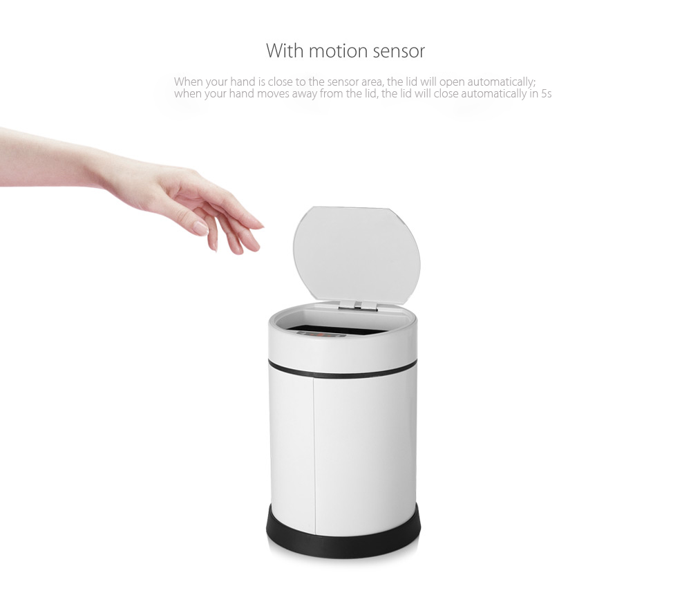 Intelligent Sensor Automatic Touchless Garbage Trash Can