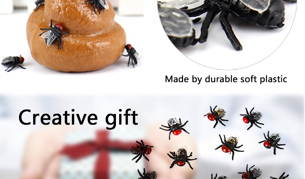 Cute Insect Style Stress Reliever Pressure Reducing Vent Toy for Office Worker - 20pcs / set