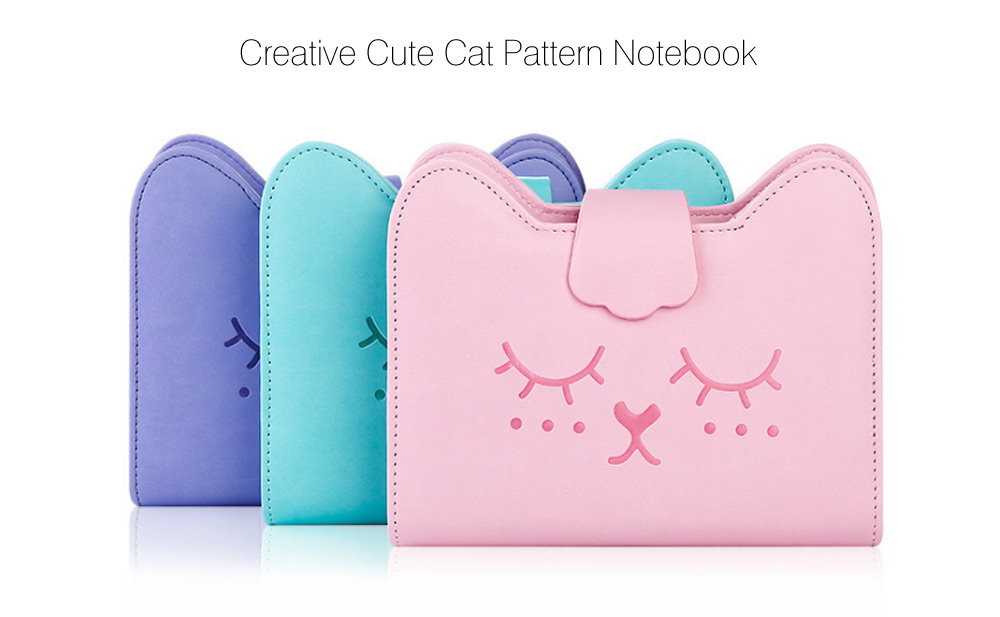 Creative Cute Notebook Cat Pattern Note Book