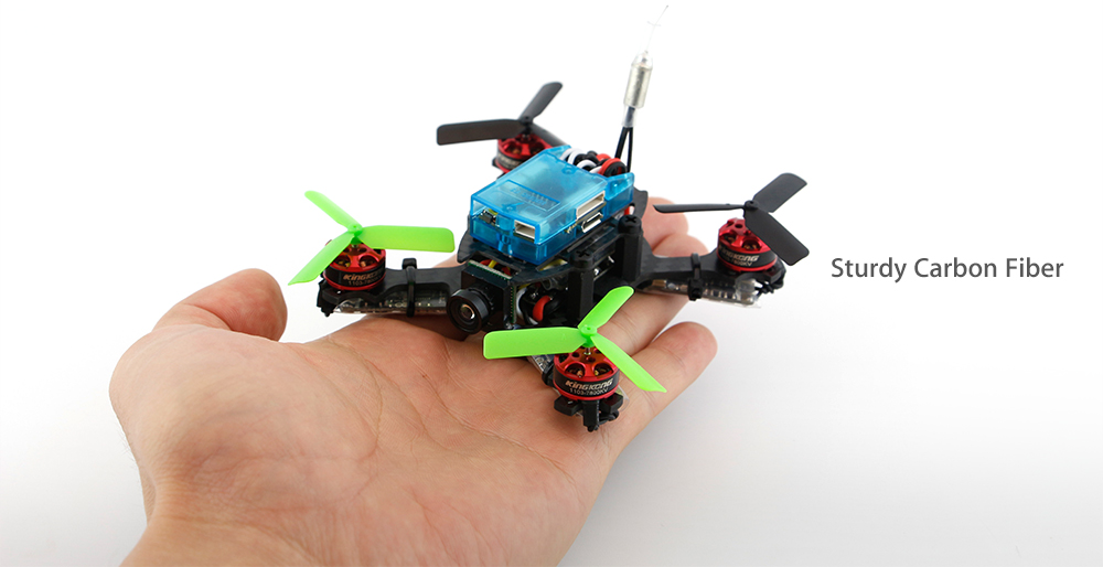 KingKong Q90 90mm Mini Brushless FPV Racing Drone PNP 5.8G 800TVL HD / 150 Degree FOV / Micro F3 6DOF FC