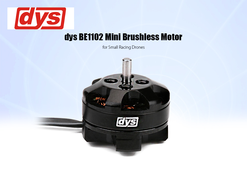 dys BE1102 7800KV Mini Brushless Motor Compatible with 2 - 3S LiPo for Small Racing Drones