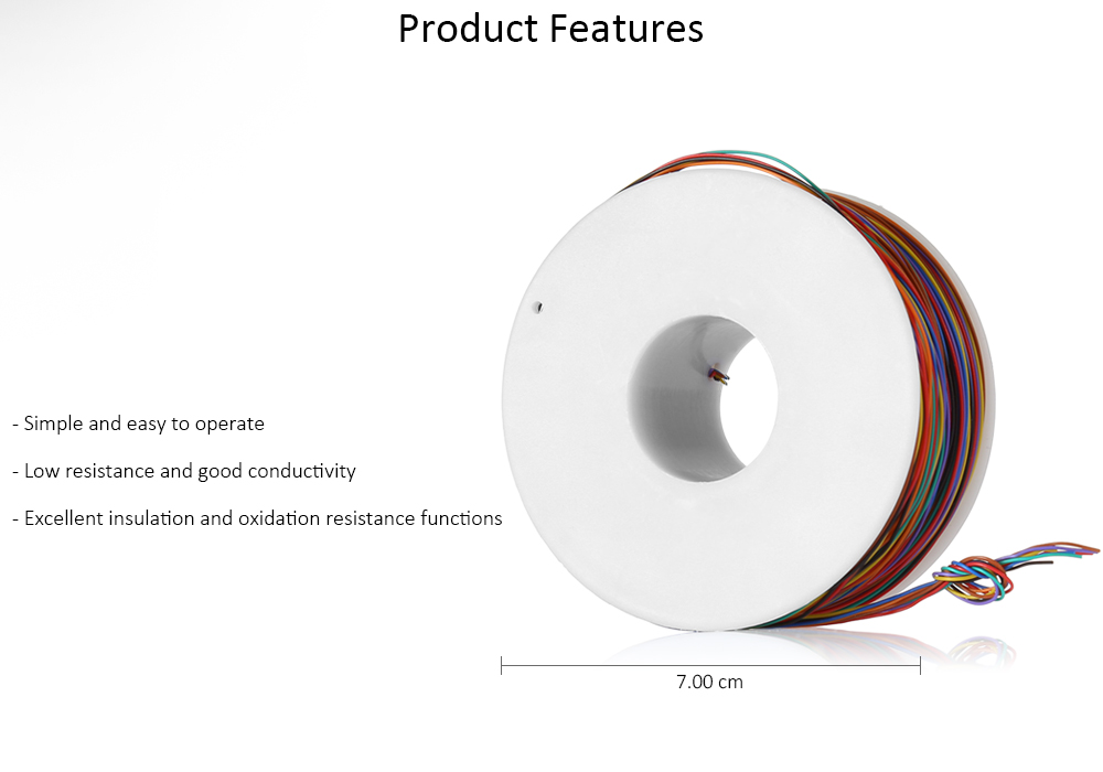 8 Colors Copper Wire Insulation Wrapping Cable