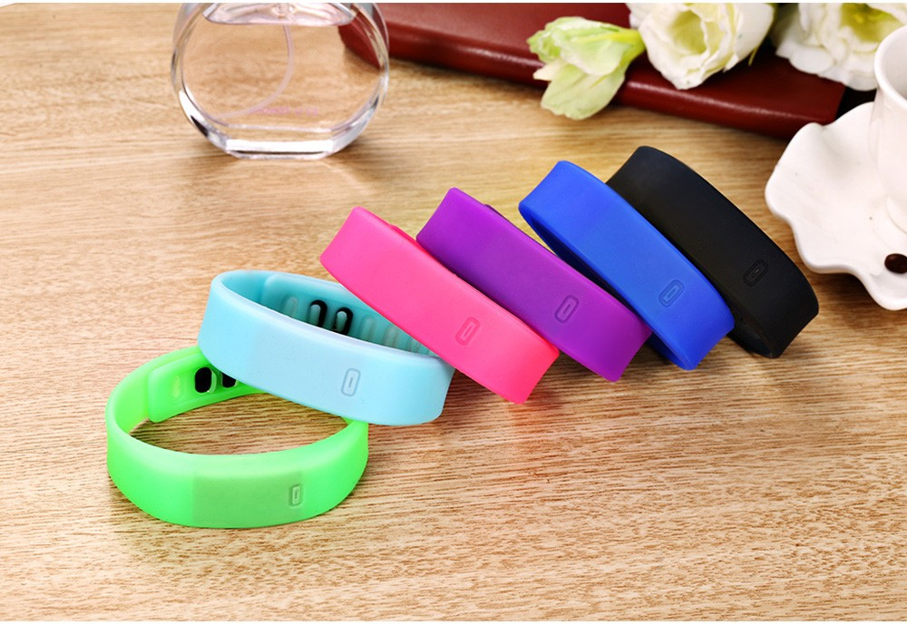 Ultralight Silicone Strap LED Watch