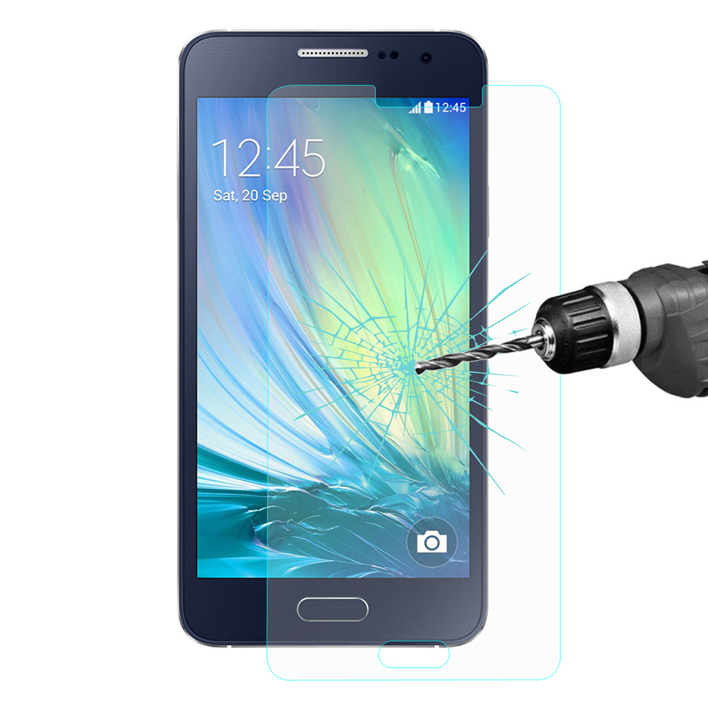 Hat-Prince 0.26mm 9H 2.5D Tempered Glass Screen Protector for Samsung Galaxy A5 Explosion-proof