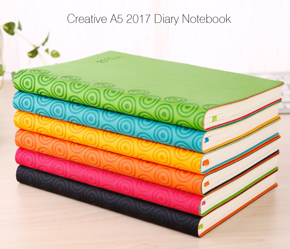 Creative A5 Notebook 2017 Diary Note Book