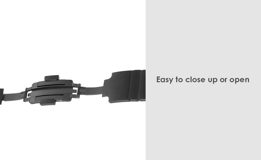 Detachable Stainless Steel Watchband for Apple Watch 38mm