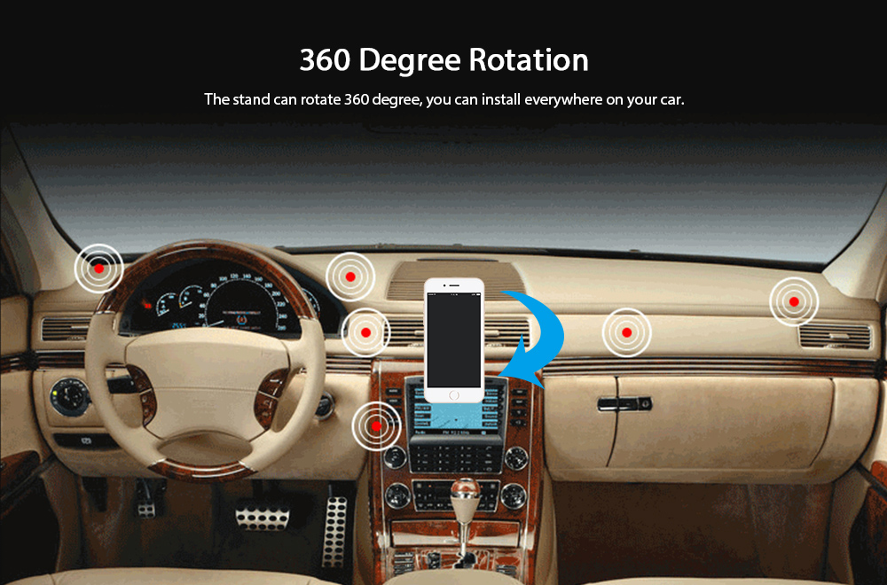 KELIMA Wireless Car Charger for Phones