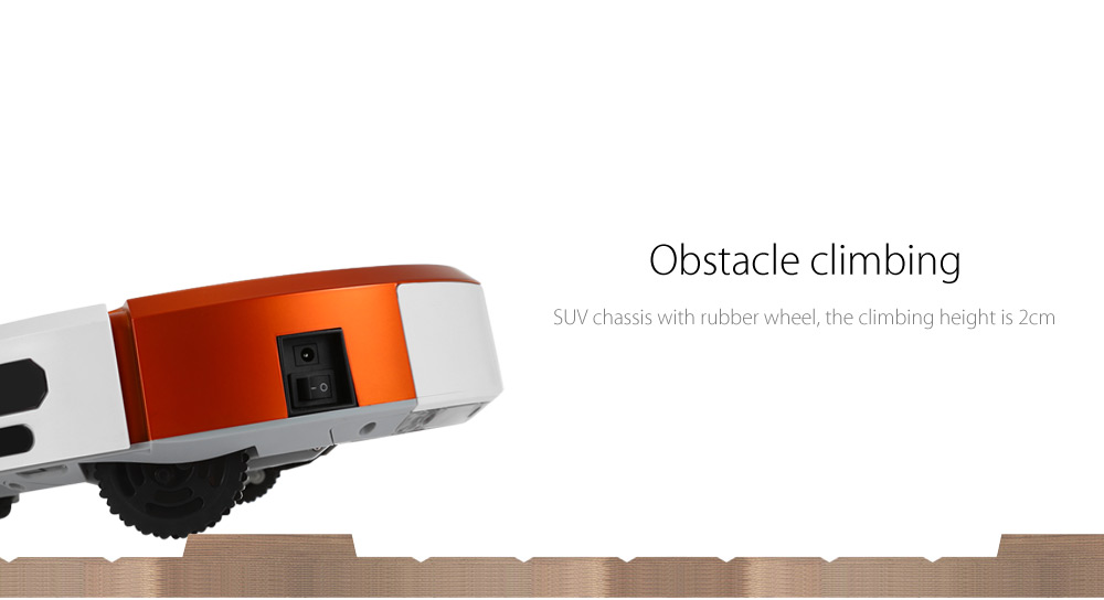 Aosder FR - smile Smart Robotic Aspirapolvere