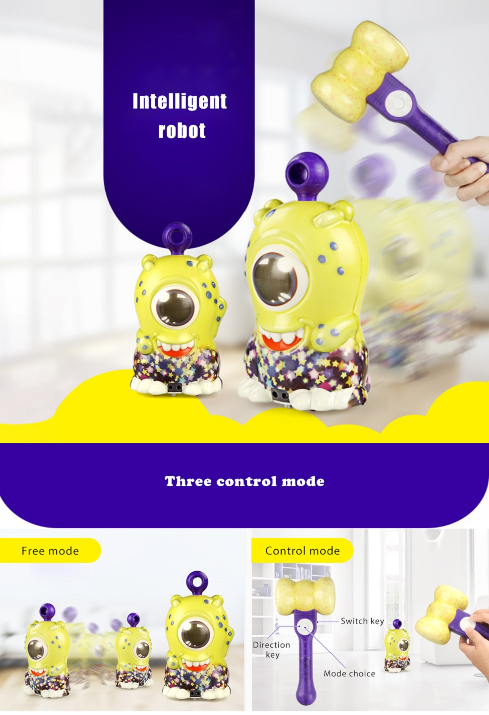 LEKO Intelligent 2.4G Remote Control Robot Dancing Game Model Toy Present