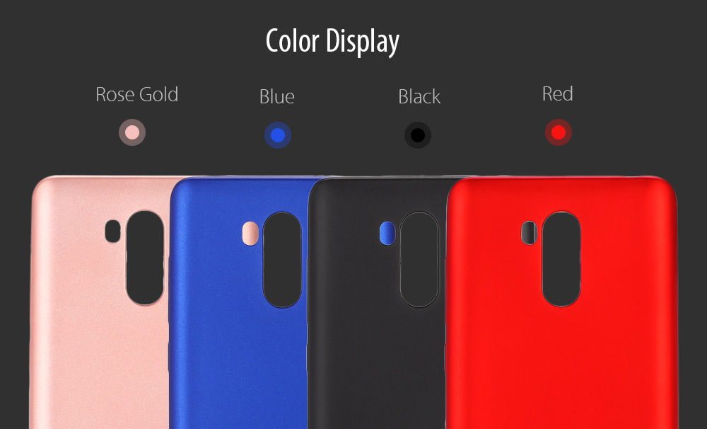 LeeHUR Metallic Paint Coating TPU Phone Case for Xiaomi Redmi 4 High Edition Nanometer Explosion-proof Screen Film