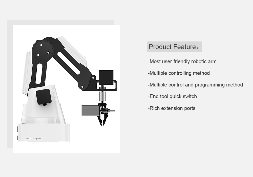 DOBOT Magician Educational Version Advanced Robotic Arm for DIY
