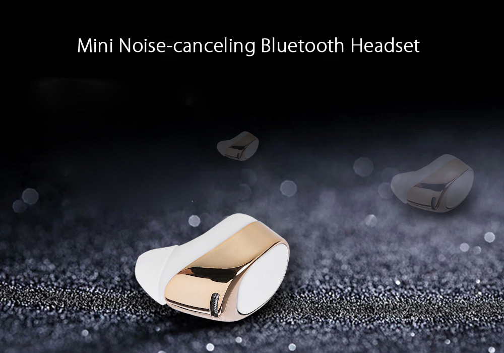 Noise-canceling Bluetooth Headset
