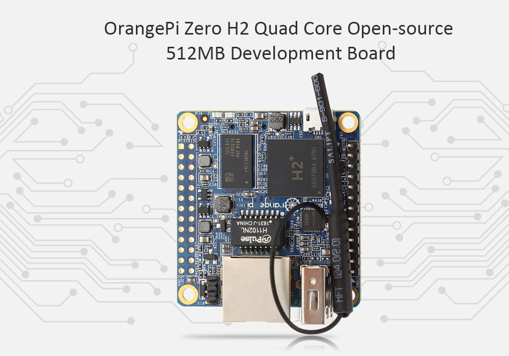 OrangePi Zero H2 Quad Core Open-source 512MB Development Board
