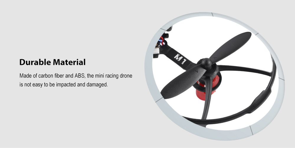 LANTIAN LT90S2 Mini Indoor Racing Drone with 32CH 25mW Video Transmitter / 5.8G 600TVL CMOS Camera - BNF