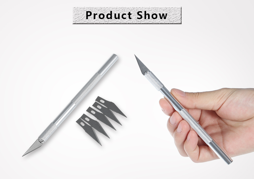 Replaceable Carving Knife Aluminum Handle for Etching
