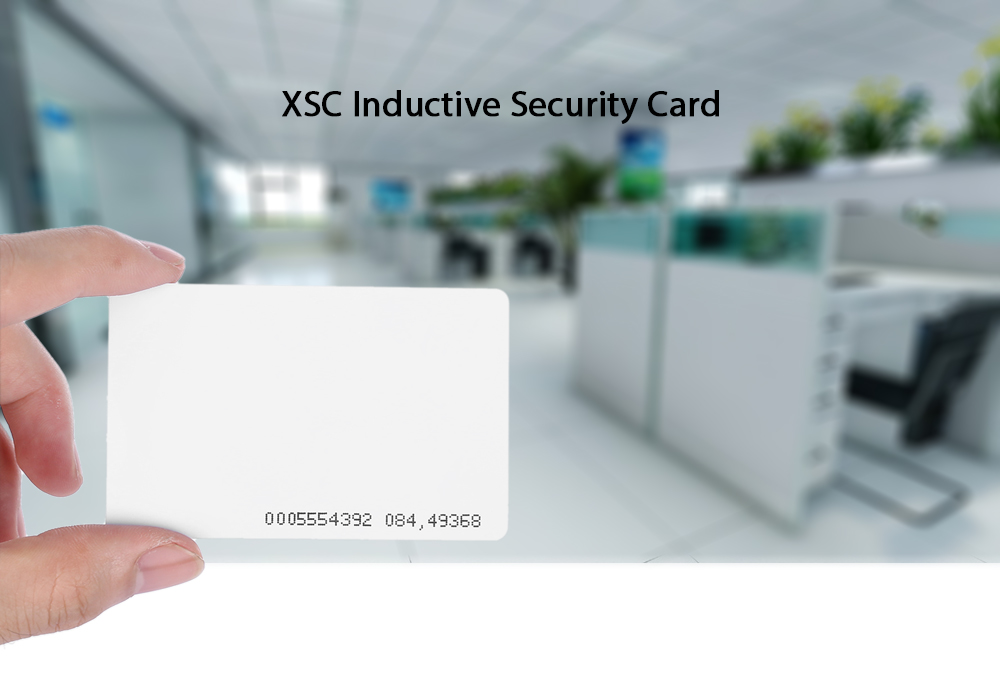 XSC 100PCS Inductive Security Card for Access Control / Attendance / System / Electronic Lock