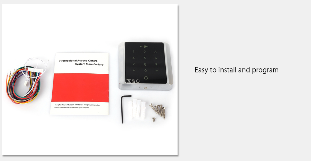 XSC - C86 Access Control System Support Password / Inductive Card