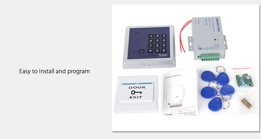 XSC - KT2000 Safety Access System Kit with Door Bell / Power Supply