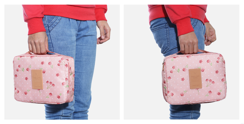 Portable Outdoor Water-resistant 5L Travel Storage Bag Makeup Washing Pouch
