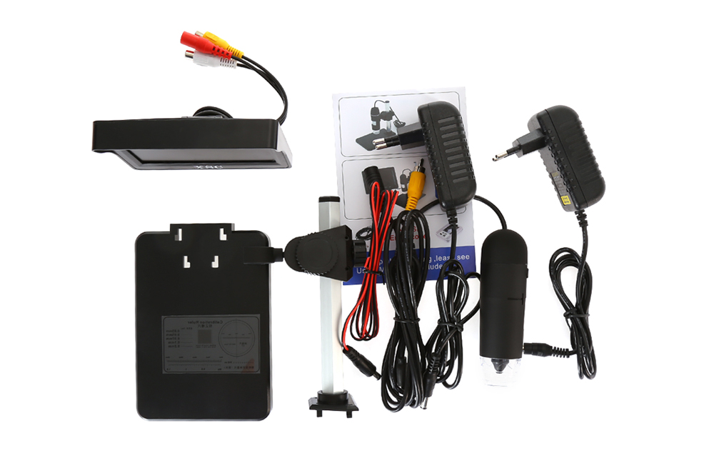 XSC Handheld 4.3 inch LCD Digital Microscope with 400x Magnifier