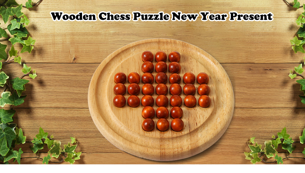 Chess Style Puzzle Educational Wooden Interlock Toy