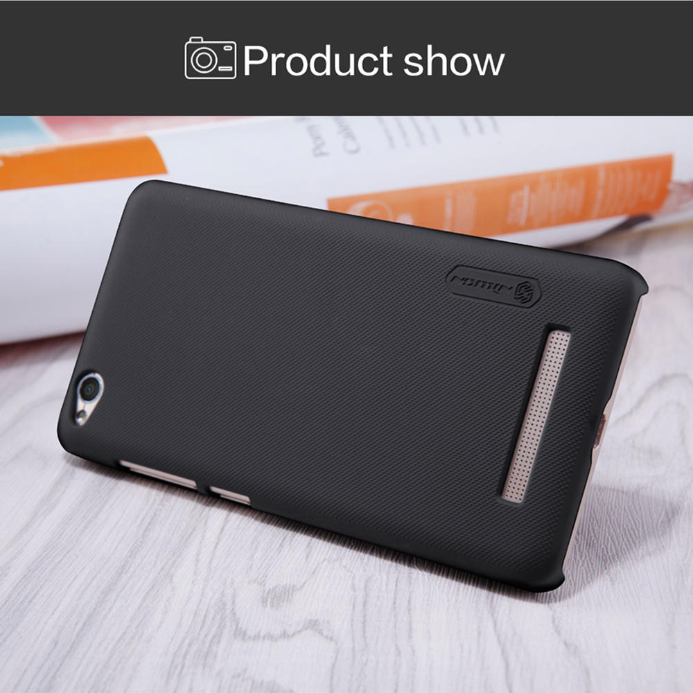 Nillkin Frosted PC Hard Protective Cover Case with Screen Film for Xiaomi Redmi 4A