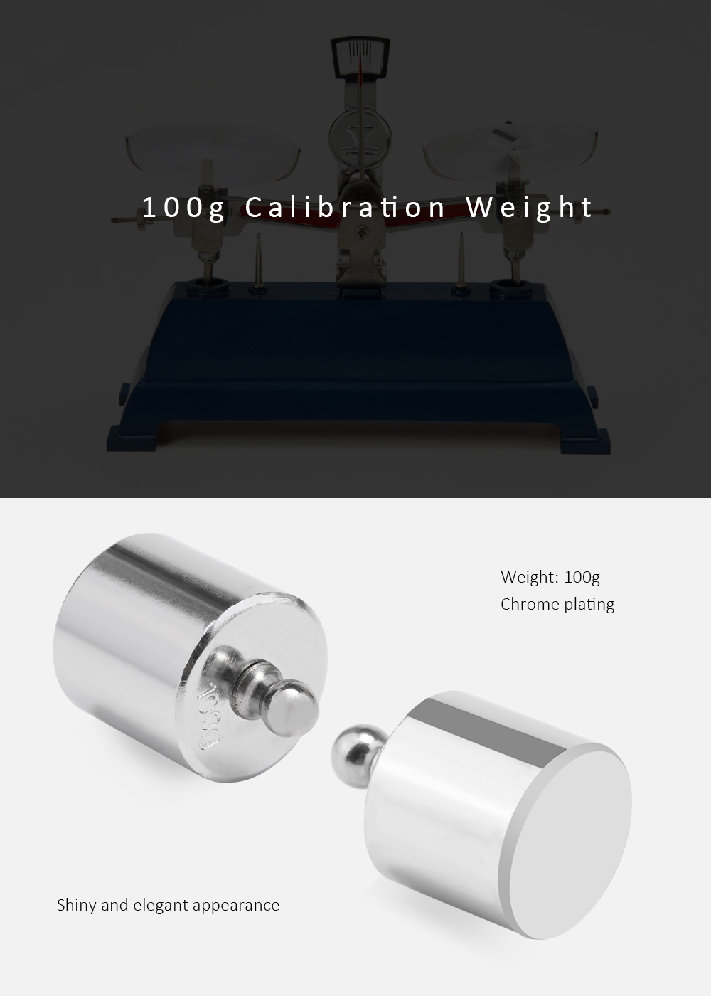100g Calibration Weight for Digital Scale Balance