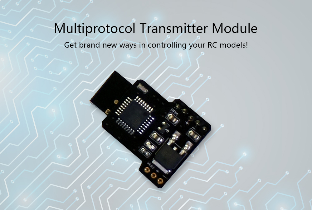 Multiprotocol TX Module for FrSky X9D X9D Plus X12S FLYSKY TH9X Turnigy T9XR PRO Transmitter