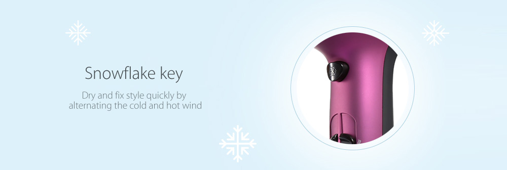 FLYCO FH6618 Fashionable Hair Dryer Low Noise Design