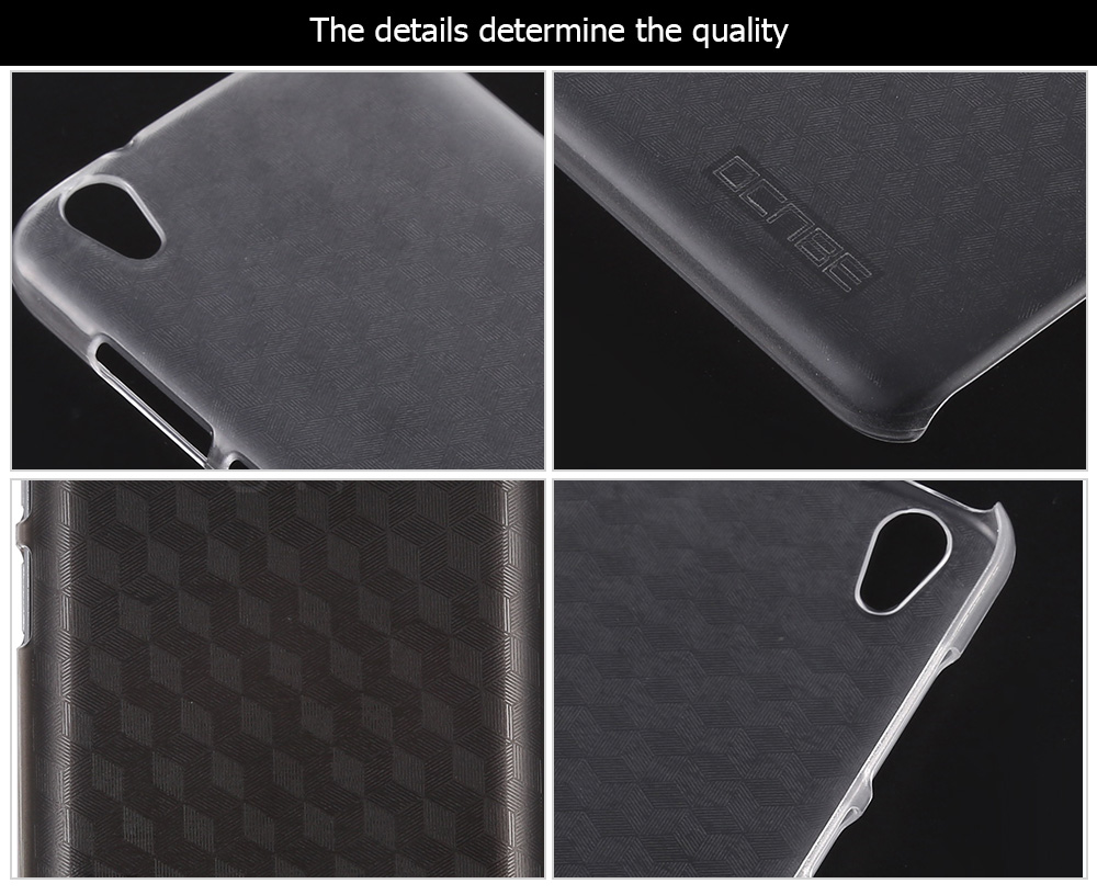 OCUBE Transparent PC Phone Back Case for UMi Diamond Ultra Thin Mobile Shell Protector