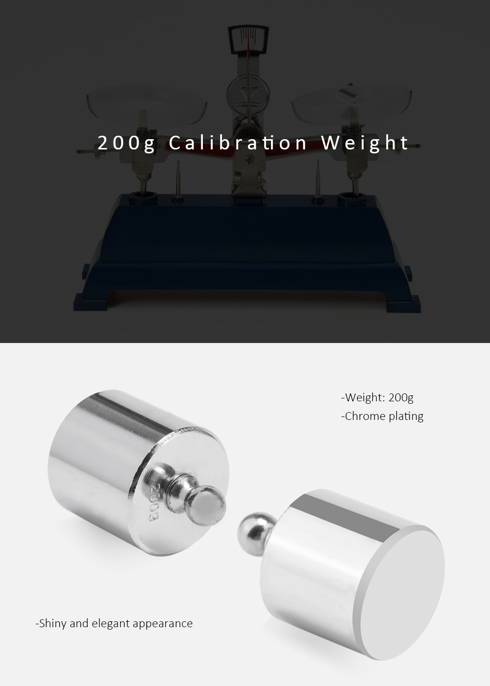 200g Calibration Weight for Digital Scale Balance