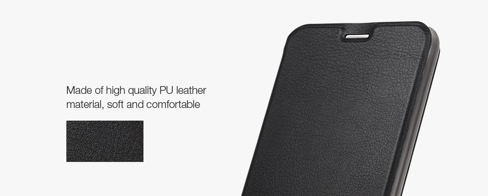 OCUBE PU Leather Full Body Phone Protective Case with Foldable Stand for Oukitel U20 Plus