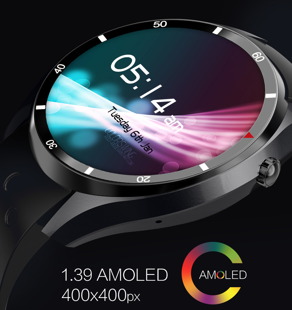 IQI I3 Android 5.1 1.39 inch 3G Smartwatch Phone MTK6580 1.3GHz Quad Core 512MB RAM 4GB ROM Pedometer WiFi