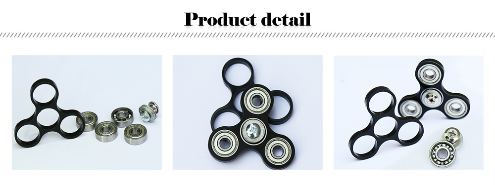 Ceramic Bearing Gyro Style Stress Reliever Pressure Reducing Toy for Office Worker
