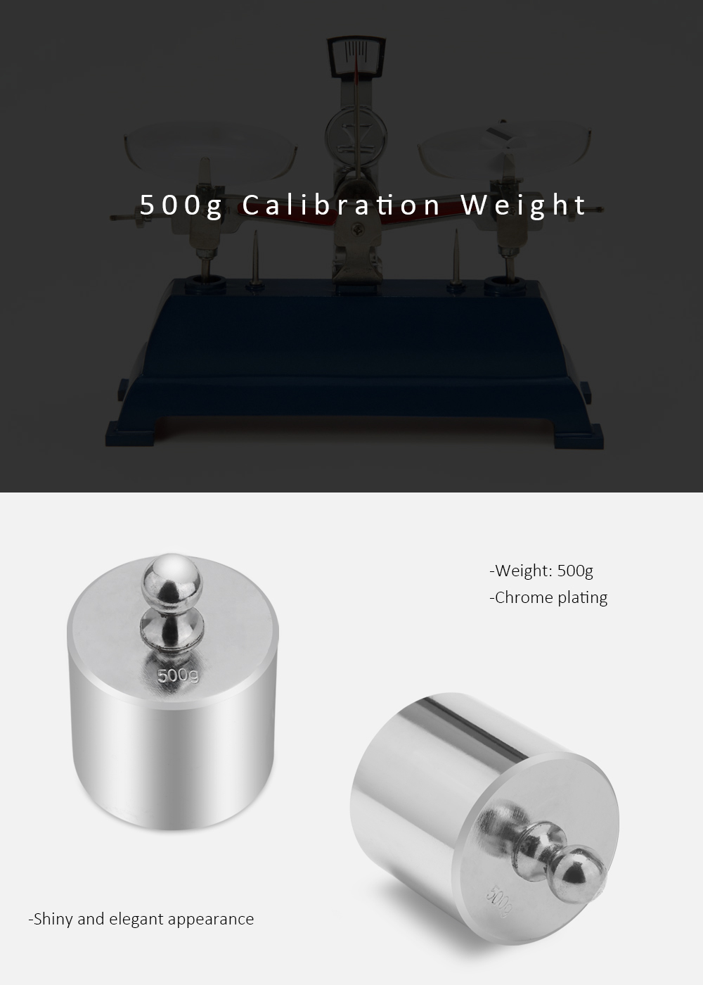 500g Calibration Weight for Digital Scale Balance