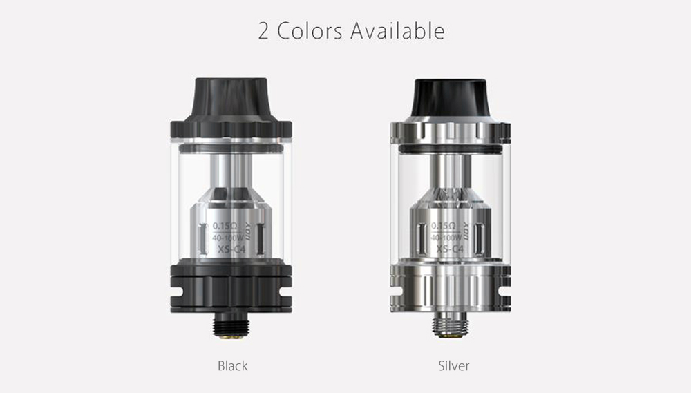 Original IJOY EXO S Sub-ohm Tank with 0.15 ohm / 3.2ml Top Filling for E Cigarette