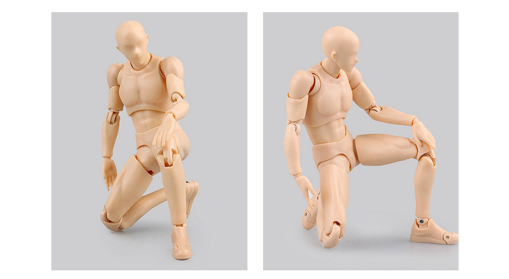 Action Figure Doll with Different Posture New Year Gift - 5.91 inch