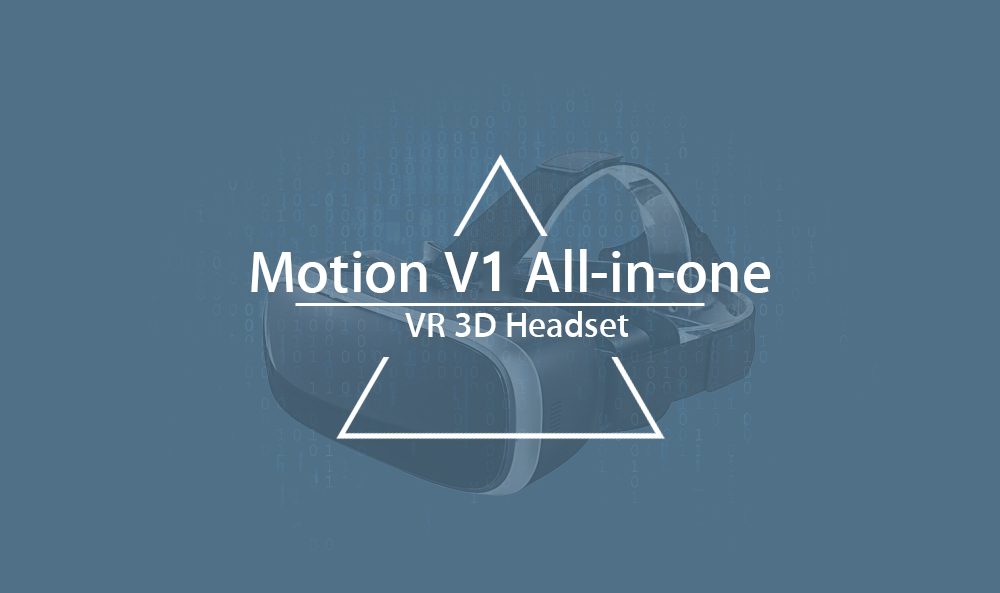 Motion V1 All-in-one VR Headset 90 Degree FOV 5.5 inch IPS Screen 60Hz Refresh Rate