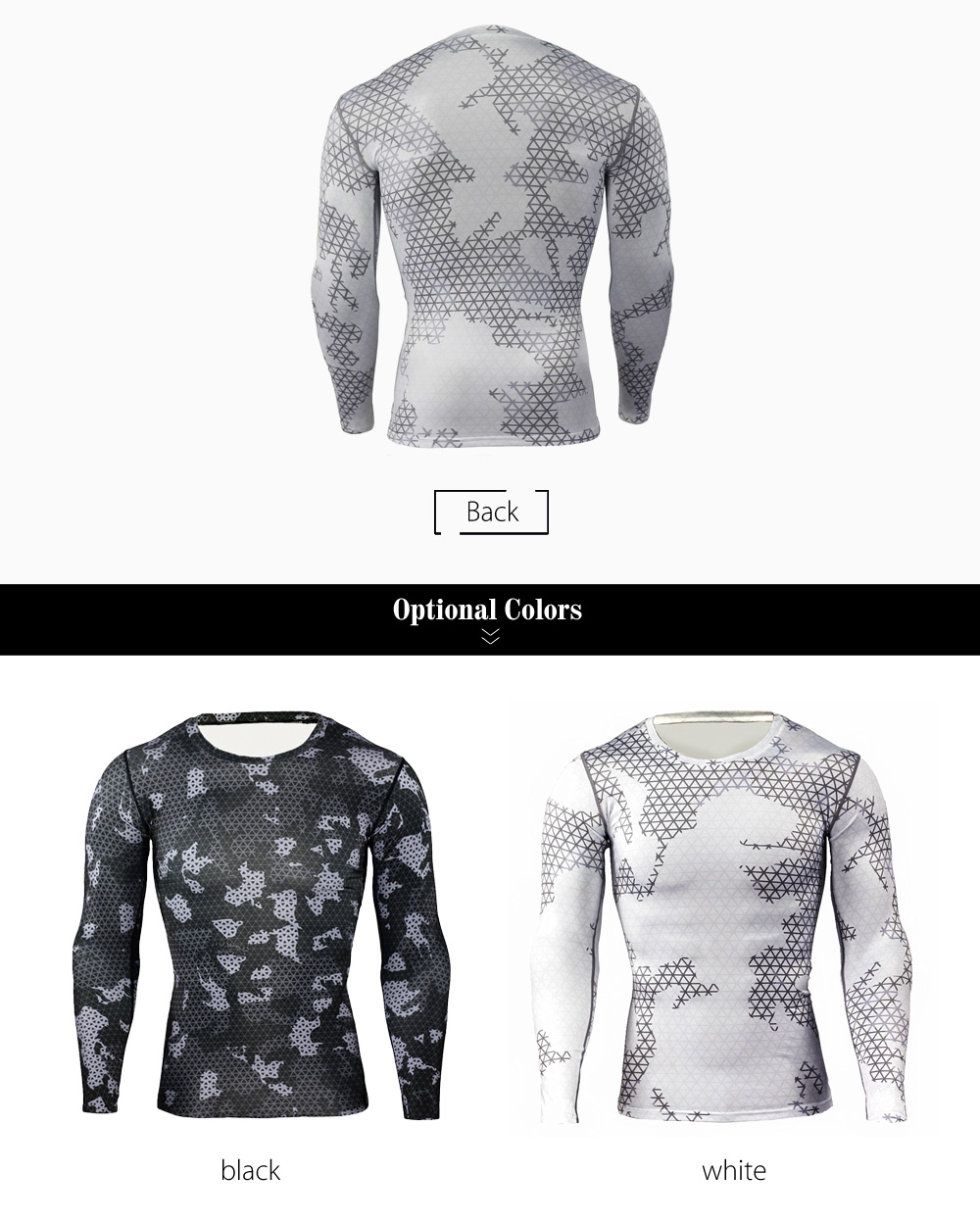 Color Block Grid Print Tight Fit Long Sleeves T-shirt Fitness Training Tops
