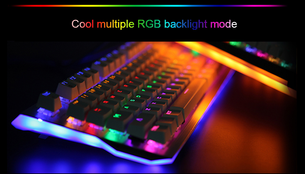 E - 3LUE K751 RGB Gaming Mechanical Keyboard Switch Colorful Backlight