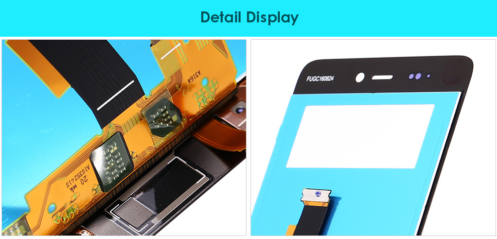 FHD Display Touch Screen Digitizer Assembly Replacement for Xiaomi 5S