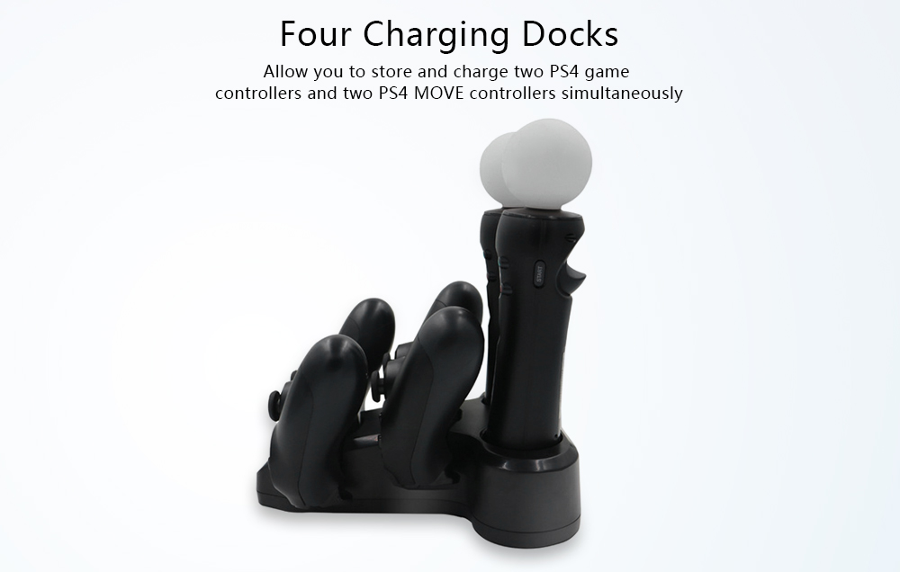 VR Storage Stand with Charge Dock for PS4