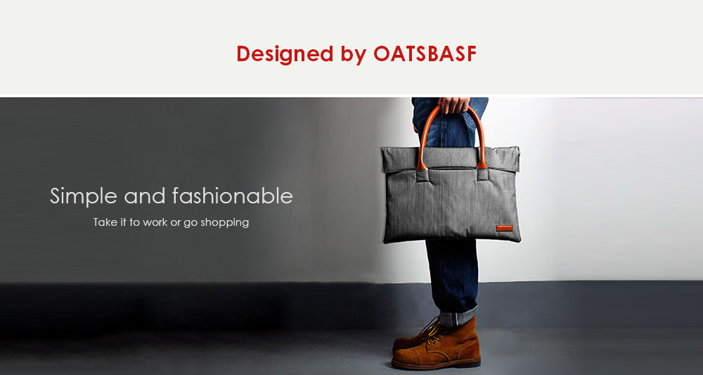 OATSBASF Notebook Hand Bag Oxford Fabric Pack Soft Inner for 11 - 12 inch Laptop